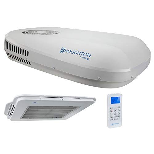 RecPro RV Air Conditioner Low Profile 13.5K Non-Ducted | Heating or Cooling Option | RV AC Unit | Camper Air Conditioner | (White)