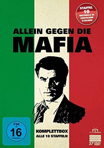 Allein gegen die Mafia - Komplettbox - Alle 10 Staffeln [27 DVDs]