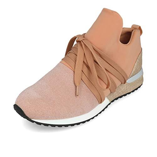 La Strada 1804189 Sneaker Fabric Nude Knitted 37