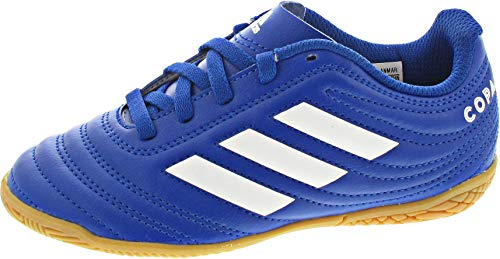 adidas Copa 20.4 IN J, Zapatillas de fútbol, AZUREA/FTWBLA/AZUREA, 29 EU