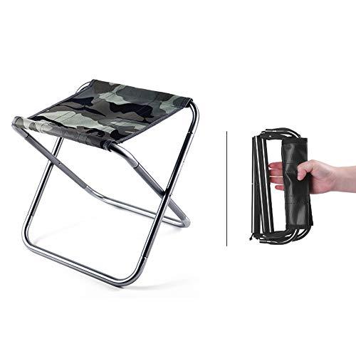 YAMEE Campinghocker Klapphocker Falthocker Camping-Stuhl für Unterwegs Camping Garten und Indoor, klappbar tragbar und leicht mit Aufbewahrungstasche ( 280g , 28.5*24.5*22.5cm )