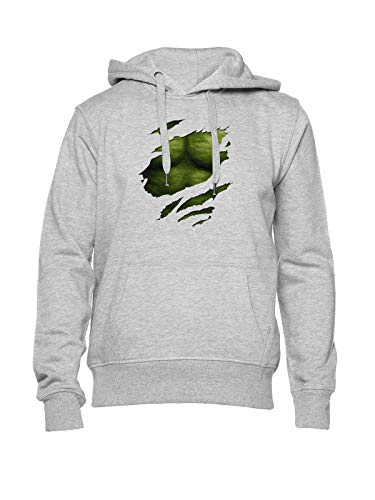 Fioze Verde Seis Paquete Sudadera con Capucha Unisex Gris Unisex Hoodie Grey