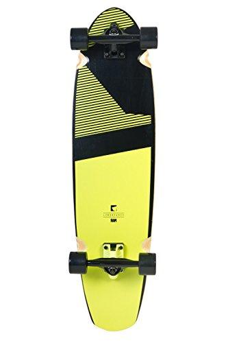 RAM Longboards Longboard Complete Blacker Sunny Lime 9.0