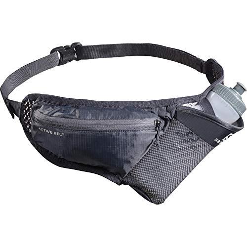 Salomon Active Belt Cinturón De Hidratación Unisex 1x Botella 3D Incluida y longitud personalizable para Trail Running oSanderismo