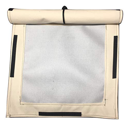 Bear Paw Wilderness Designs Canvas Tent Stove Jack. Square. Includes Canvas rain Cover. (Large)