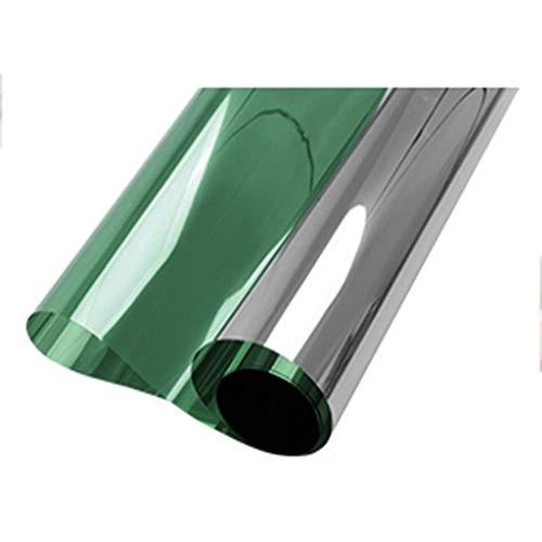 ZXL Raamfolie, zonnewerende folie, wegwerp-, glazen scherm, zonwering, cellofaan, thuis, slaapkamer, balkon, raamsticker, zonwering, warmte-isolatie (IR-inde): 90%