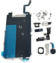 Screen LCD Metal Bracket Front Camera Flex Cable Small Parts Replacement for iPhone 6 (Black)