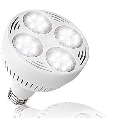 Yoursme Swimming Pool Led Light Bulb White 6500K 300-600w Traditional Bulb Replacement Compatible for Most Pentair Hayward Light Fixture