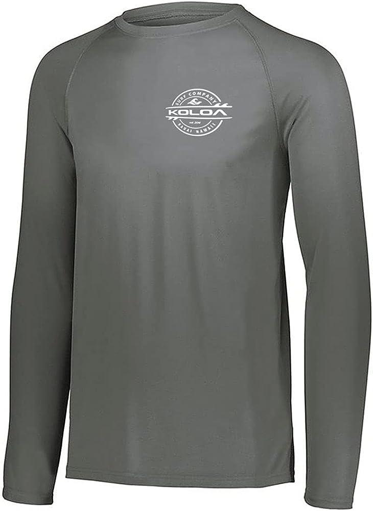 2021 autumn and winter new Koloa Surf Mens Thruster Logo Wholesale Long Sleeve 50 Guard Rash UPF in X