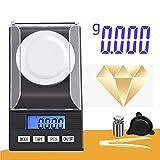 quanjucheer 100 G / 50 G / 20 G 0,001 G Bilancia Di Precisione Digitale Per Gioielli Oro A...