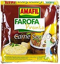Geröstetes und gewürztes Maniokmehll, Beutel 250g - Farofa Pronta Carne-Seca AMAFIL 250g