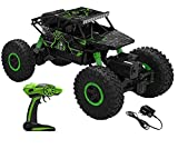 VEJ Rechargeable 4Wd 2.4GHz Rock Crawler Off Road RC Car Monster Truck Kids