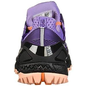 Saucony Women's Xodus ISO 3 Road Running Shoe, Purple/Peach, 6 M US