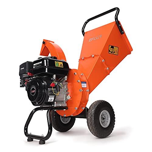 EFCUT C30 LITE Wood Chipper Shredder, 7 HP 212cc Gasoline Engine, 3