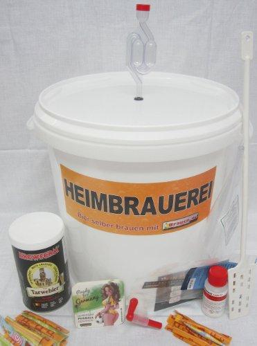 Bierbrauset Weizen – Weizenbier selber brauen (15 Liter) –Ideal für Brauset Anfänger oder als Bier Geschenk, inklusive Brauanleitung