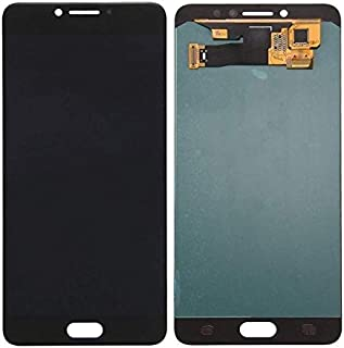 قطعة غيار شاشة LCD من ريفيكسيت سوداء متوافقة مع سامسونج C7 برو