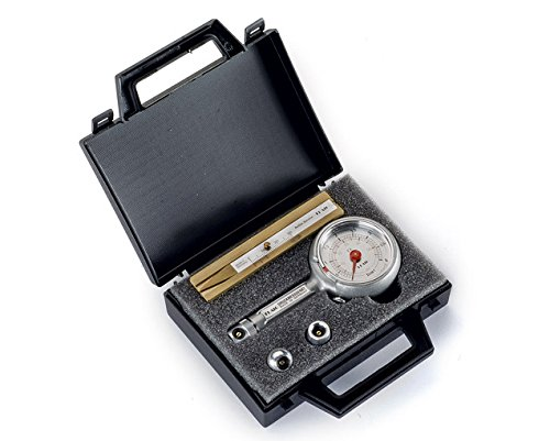 Reifendruckprüfer im Kofferset mit Reifenprofiltiefenmesser 0-4 bar mit Ablassventil