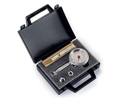 Reifendruckprüfer im Kofferset mit Reifenprofiltiefenmesser 0-10 bar mit Ablassventil