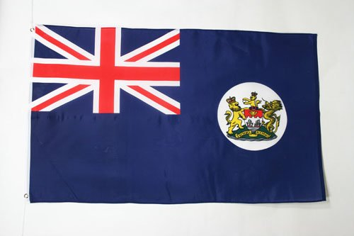 AZ FLAG Flagge Hongkong ALT 150x90cm - HK Fahne 90 x 150 cm - flaggen Top Qualität