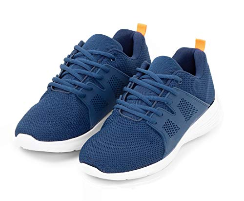 TEX - Zapatillas de Running para Hombre, Deporte, Azul Marino, 41