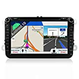 "JOYX Android 10 Autoradio Car Stereo Navigation Fit for Volkswagen VW Skoda POLO PASSAT B6 CC TIGUAN GOLF 5 Fabia - GPS 2 Din - GRATUITI Telecamera & Canbus - 2G/32G - 8"" -Supporto DAB WLAN BT Carplay"