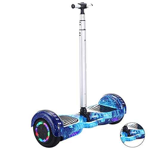 Hoverboard Self Balancing Patinete Elétrico Scooter de Equilibrio eléctrico Universal de Dos Ruedas,Blue