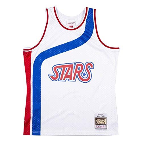 Mitchell & Ness NBA Swingman Jersey Utah Stars 1974-75 Bianco bianco M