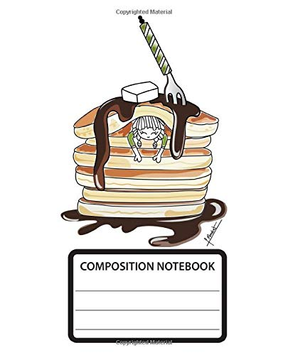 Composition Notebook: Wide Ruled School Composition Notebook. 110 Pages, 7.5
