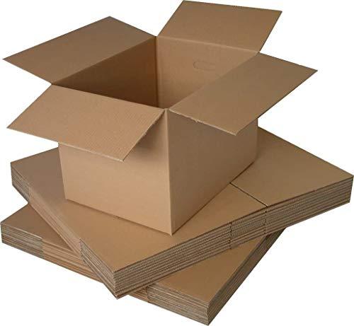 Realpackâ ® 10x scatole da parete, dimensioni: 30,5x 22,9x 15,2cm–ideale per trasloco o semplicemente per riporre oggetti Fast Shipping * Next Day UK Delivery Service away *