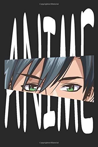 Anime Sketchbook: A5 anime manga sketchbook gift notebook