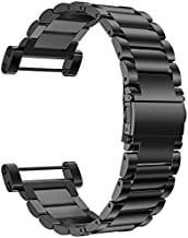 Octane Bands Suunto Core Watch Band – Metal Stainless Steel Strap Replacement Kit – Includes Lugs Adapters, Loctite, and Tools
