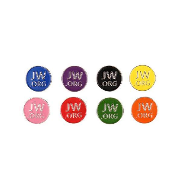Jw.org Enamel Pin Set