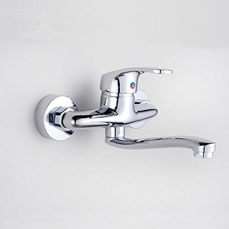 ETERNAL QUALITY Bacino del bagno lavandino rubinetto in ottone Miscelatore rubinetto bagno Miscelatore Toccare moderno e semplice di rame pieno a caldo e a freddo dei lav