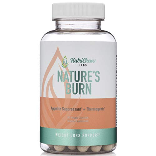 Natures Burn - Vegan Fat Burner, Thermogenic and Clean Energy Nootropic with TeaCrine
