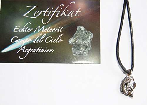Echter Eisen-Meteorit (Fundort Argentinien) mit Zertifikat