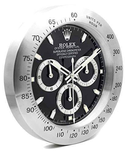 Relojesland Orologio da Parete Replica Rolex Daytona