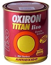 Titan M68852 - Esmalte liso oxiron 4 l blanco