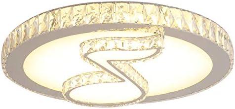 LITFAD Modern Art Deco Crystal 激安通販専門店 LED 国内正規総代理店アイテム Whi Light 17.72