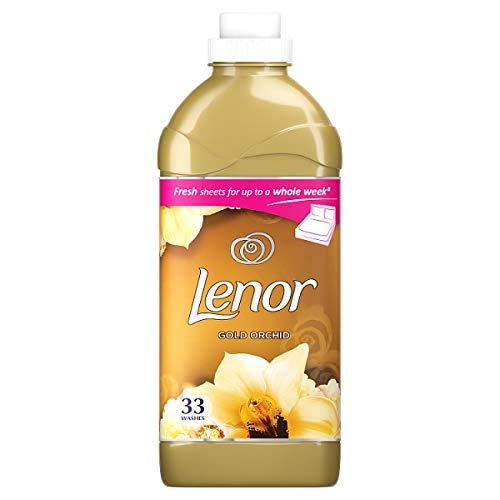 4er Pack - LENOR Weichspüler - Gold Orchidee - 33 Wäschen - 1,155 Liter