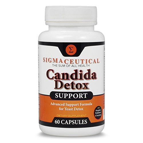 Candida Cleanse - Yeast Infection Treatment - Oral Thrush Treatment for Adults - Non-GMO Oral Thrush Medicine and Thrush Mouth Treatment - Yeast Cleanse - 60 Capsules