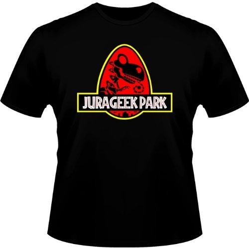 T-Shirt Noir Yoshi - Jurassic Park parodique Yoshi et Jurassic Park : Jurageek Park ! (Parodie Yoshi - Jurassic Park)