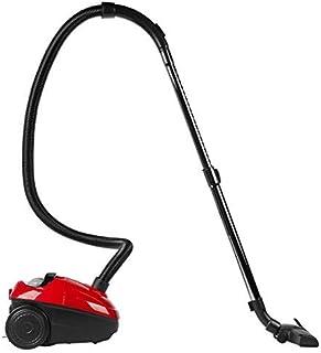 MEDION MD 17971 - Aspirador, 700 vatios de potencia, cable de 5 M, bolsa de 1'5 L, cepillos para diferentes revestimientos de suelo, color negro