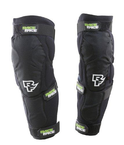 Race Face Protektor Flank Leg - Camiseta de Fitness para Mujer, Color Negro, Talla 3XL