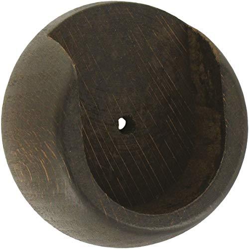 Support entre-mur Ateliers 28 - Noyer - Diamètre 35 mm - Vendu par 1