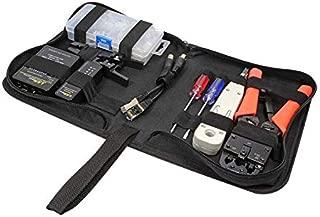 Faconet® Premium Juego de Herramientas, Funda para Profesional Cable de Red verlegung Incluye Cable de Red Tester, anlegew erkzeug, Pelacables, crimpadora, Conector y Instrucciones