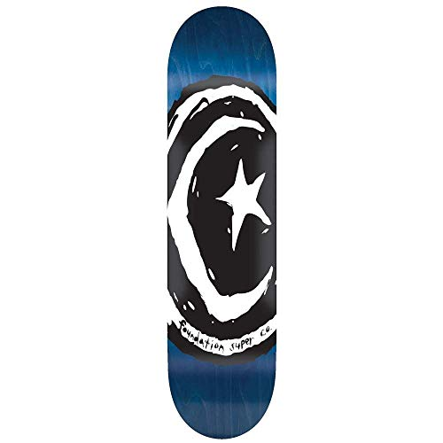 Foundation Skateboard Deck Star & Moon V.1.0