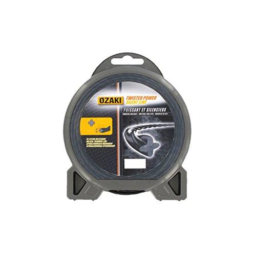 Greenstar 3912 Fil nylon hélicoïdal Ozaki Premium ø 2,4 mm x 15 m