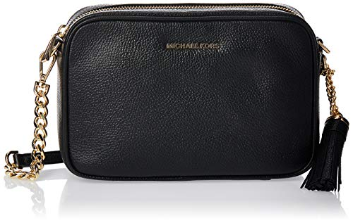 Michael Kors Ginny Md Camera Bag Clutch, Schwarz