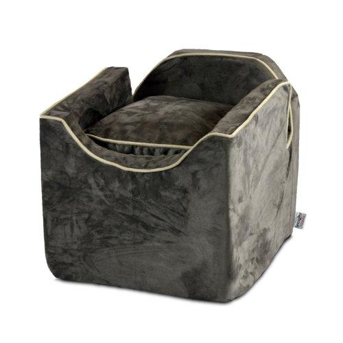 Luxury PETS-N-US Lookout I Pet Car Seat – Medium – Dark Chocolate (Up to 11,5 kg)