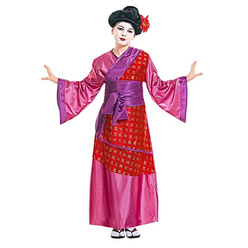 WIDMANN Widman - Disfraz de Chino Oriental para niña, Talla 8 años (38716)